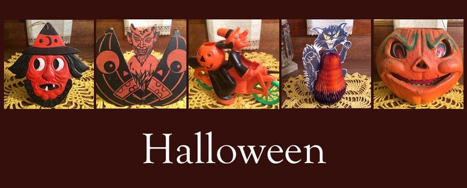 Vintage and Antique Halloween